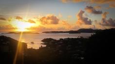 Sunset in St. John