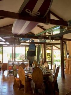 Dining room at Vista - so chill!