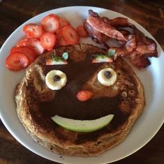 The famous pancake at Vista - so good!